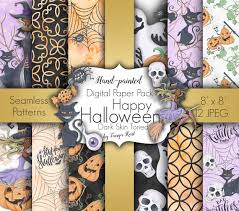 halloween solitaire background halloween digital paper autumn digital paper watercolor