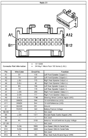 2011 chevy hhr wiring diagram 2011 hhr radio wiring diagram
