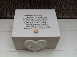 wedding gift boxes uk personalised chic friend wedding bridesmaid in box
