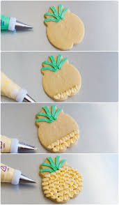 The Decorated Cookie Company Best 25 Pineapple Cookies Ideas On Pinterest Pineapple Coconut