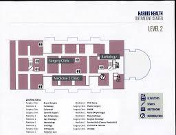 uthealth affiliated harris health programs floor u0026 parking maps