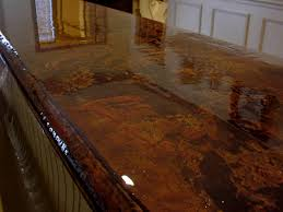 acid stain concrete countertops stained concrete countertops