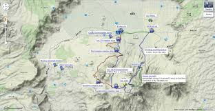 Google Maps Bus Routes by 005 Google Map Of The Aso Hiking Course U0026 Mt Aso Climbing Route