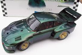 porsche 935 exoto porsche 935 turbo 1976 standox avus galaxy green 1 18