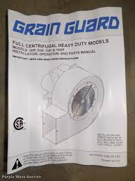 grain guard high speed centrifugal fan item au9514 sold