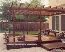 deck in japanese garden