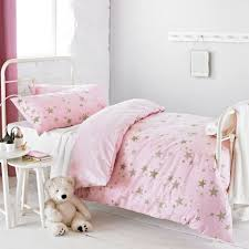 Cot Bed Duvet Cover Boys Textile Warehouse Star Gold Pink Childrens Girls Kids Duvet Quilt
