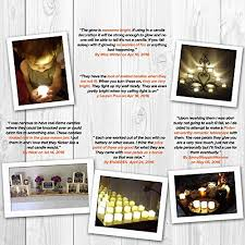 12 flickering flameless candles battery operated candle
