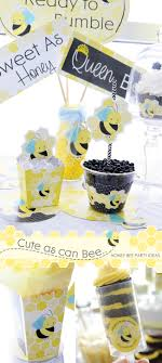 bumble bee party favors as can bee honey bee party ideas big dot of happiness