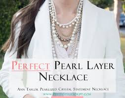 pearl crystal statement necklace images Ann taylor pearlized crystal statement necklace review petite png