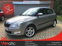 used skoda fabia elegance for sale motors co uk