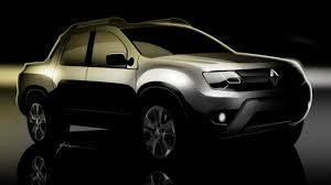 renault duster oroch renault oroch production version teased prior to june 18 reveal