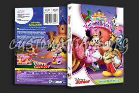 mickey mouse clubhouse minnie rella dvd cover dvd covers