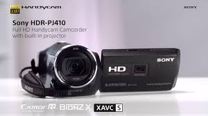visit sony s kitchen for sony hdr pj410 hd handycam camcorder with built in projector