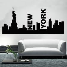 wohnzimmer new york online get cheap skyline wandkunst aufkleber aliexpress com