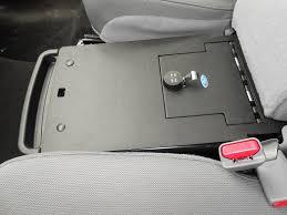 Gun Safe Bench 2011 2014 F150 Console Vault Under Front Middle Seat Gun Safe 1049