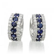 hoop diamond earrings earrings 1 2 inch hoop diamond huggies 18k white gold
