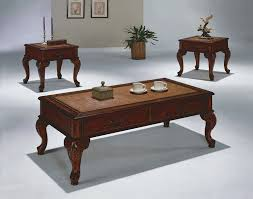 3 piece explorer cocktail table set by crown mark furniture home