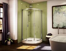 Bathroom Stall Pics Bathroom Calm Curtain Color For Tile Window Facing Cozy Bathtub