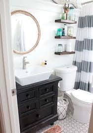 nautical bathroom mirrors nod to nautical bathroom modern bahtroom wooden floating shelf above white closet on amusing