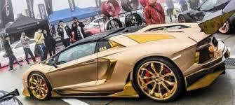 lambo aventador convertible dub magazine gold themed lamborghini aventador roadster