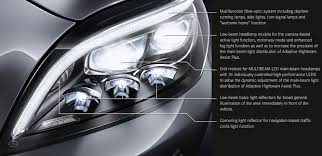 led intelligent light system the future of light mercedes benz cls