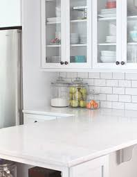 the look of marble without the maintenance carrara marble