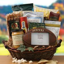 themed gift basket touchdown football theme gifts basket football gift baskets