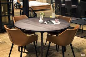 round wood table with leaf a natural upgrade 25 wooden tables to brighten your dining room