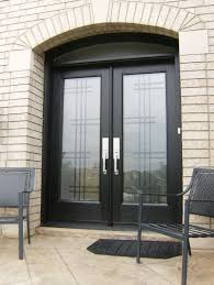 Rod Iron Home Decor Modern Glass Exterior Doors New Fiberglass Entry Door With Updated
