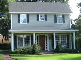 image of exterior paint colors for homesgreen home with green