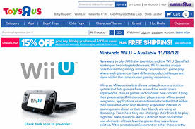 can you order for pickup wii u black friday target wii u pre orders sell out at sears toys u0027r us and target
