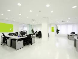 office 36 spacious office creative design ivory wall scheme with