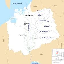 Map Of Salt Lake City Utah by File Jordan River Utah With Locator Map Png Wikimedia Commons