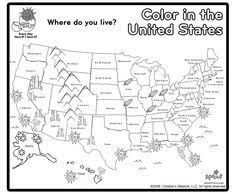 us map states by color printable map of usa with states names also comes in color but