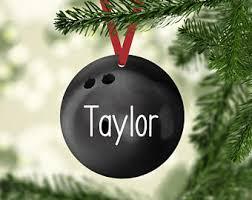 bowling ornaments etsy