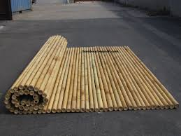 engineering information bamboo rolled fences fencing panels
