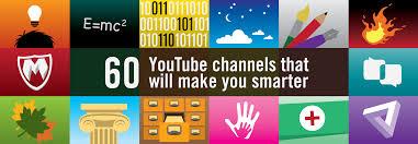 60 youtube channels that will make you smarter u2013 the graph u2013 medium