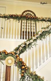 Banister Christmas Garland 7 Best Decorative Staircases Images On Pinterest Staircase
