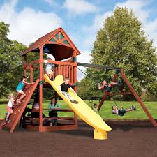 backyard adventures wooden playsets wooden gym sets american sale
