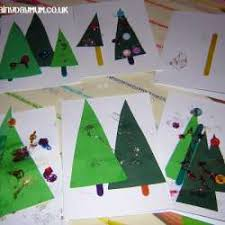 Holiday Craft Ideas For Children - 20 homemade christmas cards made by the kids hands on as we grow