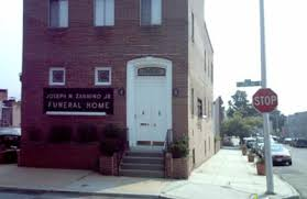 funeral homes in baltimore md zannino funeral home joseph n jr 263 s conkling st baltimore md