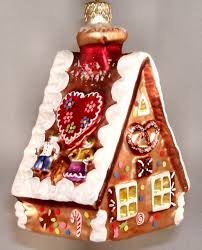 gingerbread house ornaments 45degreesdesign