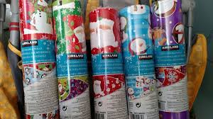 reversible christmas wrapping paper brand new costco reversible christmas wrapping paper arts crafts