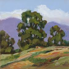 Impressionist Landscape Painting by Tom Brown Fine Art Impressionist Landscape Painting By Tom Brown
