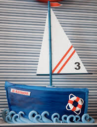 sailboat cake topper swell nautical cakes knot bad at all cake decorating inspiration