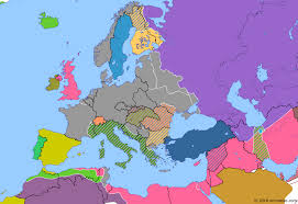 map or europe aftermath of stalingrad historical atlas of europe 19 march