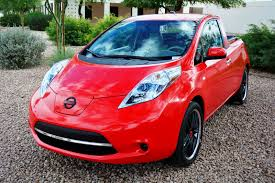 nissan leaf youtube video this is sparky u2013 the nissan leaf pickup you u0027ll never drive