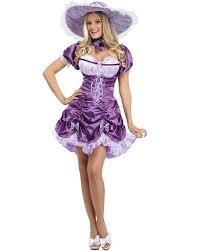 c837 womens southern belle purple dress halloween fancy dress