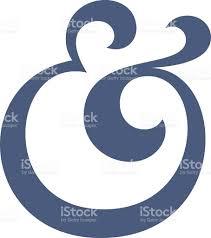 Overdone Large Overdone Ampersand Symbol Stock Vector Art 464842188 Istock